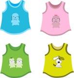 Les chemises des enfants Illustration Stock