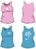 Les chemises des femmes Images libres de droits