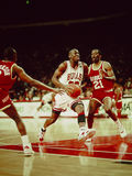 Les Chicago Bulls de Michael Jordan Photos libres de droits