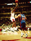 Les Chicago Bulls de Michael Jordan Photographie stock