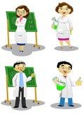 Les chimistes illustration de vecteur