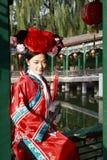 les Chinois antiques rectifient la fille Photographie stock libre de droits