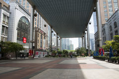 Les Chinois asiatiques, Pékin, moderne sont, le palais, velarium Photographie stock libre de droits