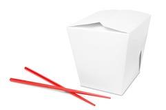 Les Chinois emportent la boîte à nourriture photo stock