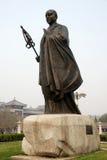Les Chinois jianzhen la sculpture en moine Images libres de droits