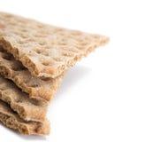les chips de céréale de pain rapiècent plusieurs Image stock