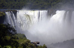 Les chutes d'Iguaçu - l'Amérique du Sud, Photos libres de droits