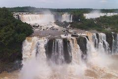 Les chutes d'Iguacu Images stock