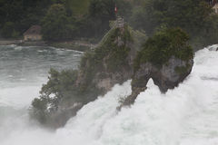 Les chutes du Rhin. Photos stock