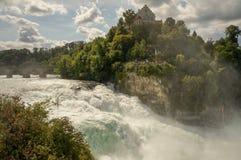 Les chutes du Rhin, Suisse photo libre de droits