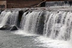 Les chutes grandes arrosent la chute, Joplin, Missouri Images libres de droits