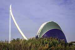 Les Ciencies, Valencia, España de Ciutat de les Arts i fotos de archivo