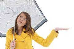 Les cieux sont effacement mais toujours un risque de pluie Photos stock