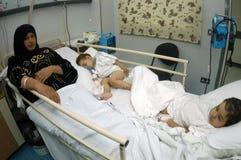 Les civils ont blessé Photographie stock libre de droits