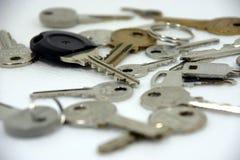 Les clés Image libre de droits