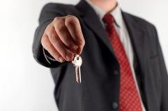 Les clés au vôtre autoguident Photos libres de droits