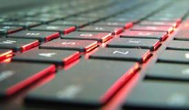 Les clés d'ordinateur portable photos libres de droits