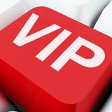 Les clés de VIP montrent influent de la personne très importante Photo libre de droits