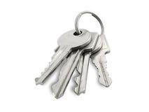 Les clés. Image stock
