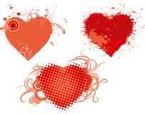 Les coeurs de Valentine Illustration Libre de Droits