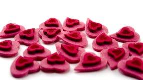 Les coeurs de Valentine Image stock