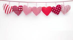 Les coeurs de Valentine Images stock