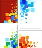 Les collections de mosaïque ont dénommé des configurations de vecteur Photo libre de droits
