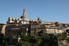 Les collines de Florence, Italie Photographie stock