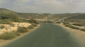 Les collines du haut atlas banque de vidéos