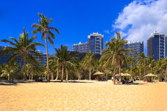 Les communautés voisines de plage image stock