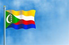Les Comores illustration de vecteur