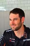 Les conducteurs de champion de Supercars de V8 rencontrent des fans de sport mécanique à Auckland, Photo stock