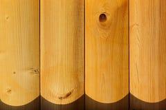 Les conseils vernis La texture en bois Le fond Photographie stock