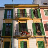 Les constructions de logements du pêcheur typique de Santa Catalina Image libre de droits