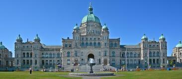 Les constructions du Parlement de Colombie-Britannique Image stock