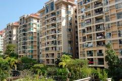 Les constructions résidentielles Image stock