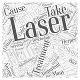 Les contres-indication du mot d'épilation de laser opacifient le fond de vecteur de concept de nuage de mot de concept Image libre de droits
