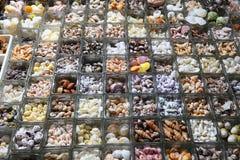 Les coquilles de mer font des emplettes photos stock