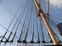 Les cordes du bateau Image stock