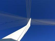 Les cordes jettent un pont sur, Jérusalem Photos stock