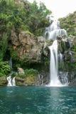 Les Cormorans waterfall on Reunion island Royalty Free Stock Photos