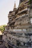 Les couches bourrées de la pagoda Photo stock