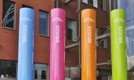 Les couleurs de Bruges Image libre de droits