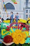 Les couleurs de Fest de flore de l'harmonie visitent la Malaisie 2007 Images libres de droits