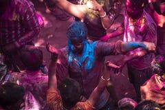 Les couleurs de Holi à Jaipur 4 Photographie stock libre de droits