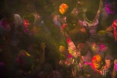Les couleurs de Holi à Jaipur 2 Images libres de droits