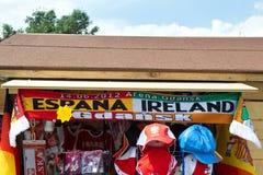 Les couleurs de l'euro 2012. Image libre de droits