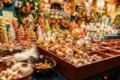 Les couleurs de Noël Image libre de droits