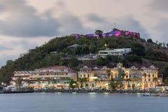 Les couleurs des Frances dans les Caraïbe photos libres de droits