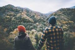 Les couples équipent et femme dans l'amour ensemble Photo libre de droits